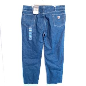 CARHARTT RELAXED FIT STRAIGHT JEANS MENS SZ 44X32